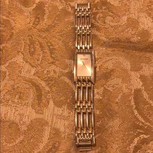 Movado women's rectangle watch.
